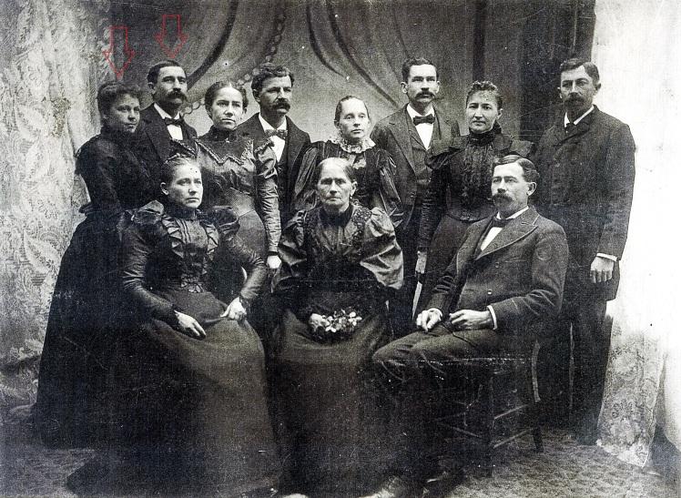 Albert Fischer family Neubeck couple