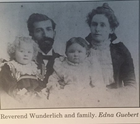 August and Anna Wunderlich family
