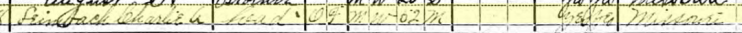 Charles Leimbach 1920 census 1 Brazeau Township MO