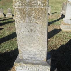 Clara Leimbach gravestone Immanuel Altenburg MO