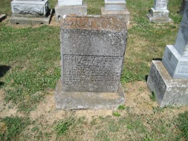Emilie Doering gravestone Trinity Altenburg MO