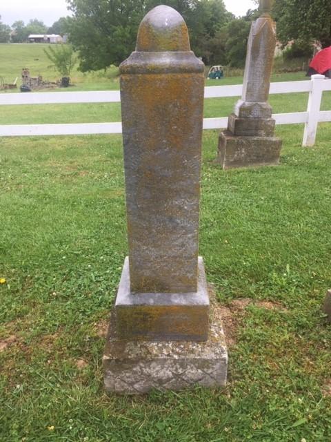 Ernestine Theiss gravestone Trinity Altenburg MO