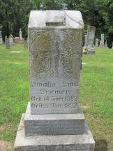 Lina Bremer gravestone Concordia Frohna MO