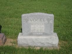 Martha Vogel gravestone Grace Uniontown MO
