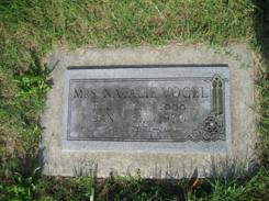 Natalie Vogel gravestone Grace Uniontown MO