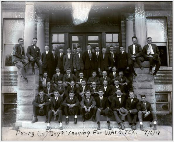 Perry County Boys September 6 1918 Camp MacArthur Waco TX