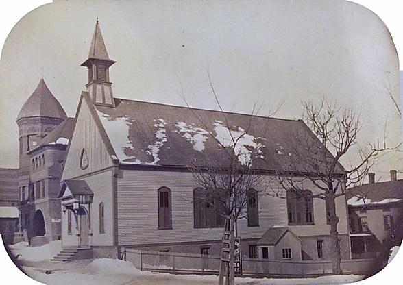 St. John Meridan CT 1867 church