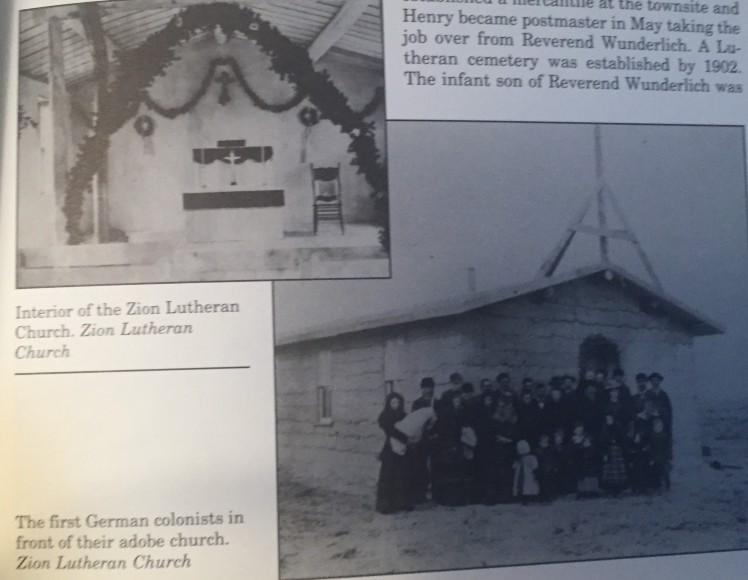 Zion Lutheran first adobe church
