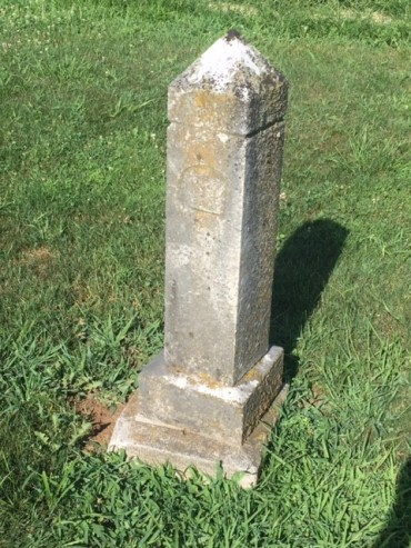 1888 gravestone Trinity Altenburg MO Birner possible