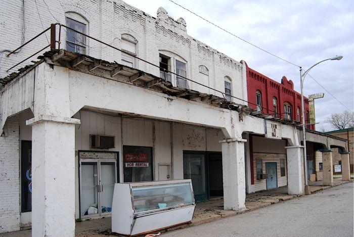 Downtown Afton Oklahoma