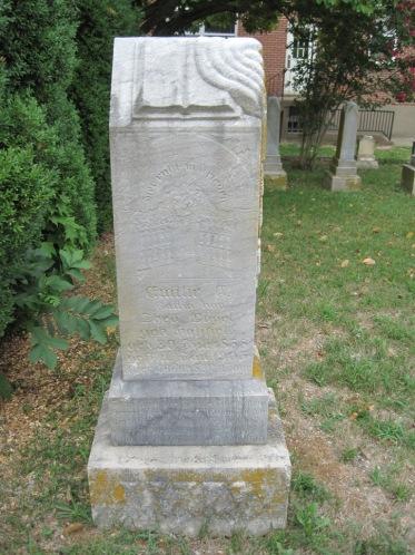 Emilie Happel Vogel gravestone Zion Pocahontas MO