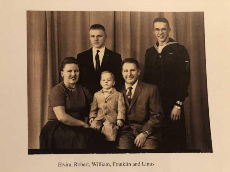 Frankline and Elvira Emmendorfer family