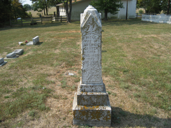 Irene Canter gravestone Cedar Creek Perry County MO