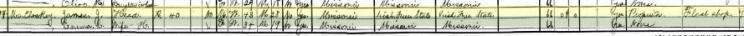 James McCloskey 1930 census 1 St. Louis MO