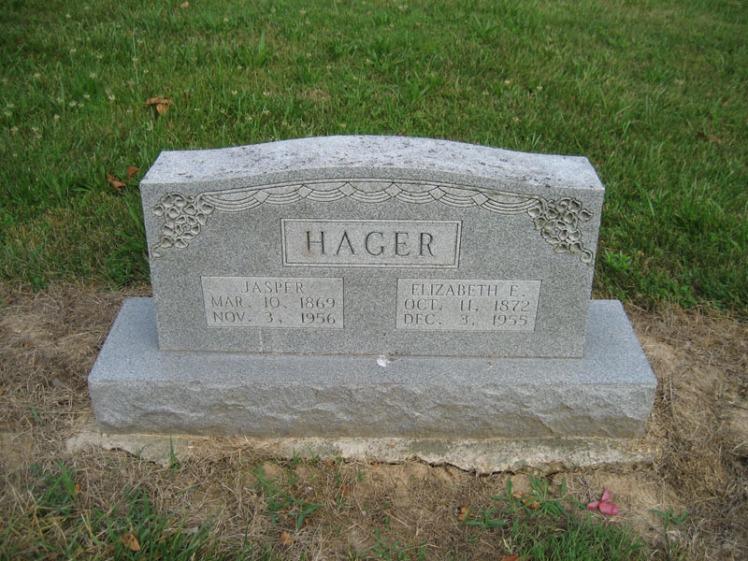Jasper and Elizabeth Hager Pleasant Grove Crosstown MO