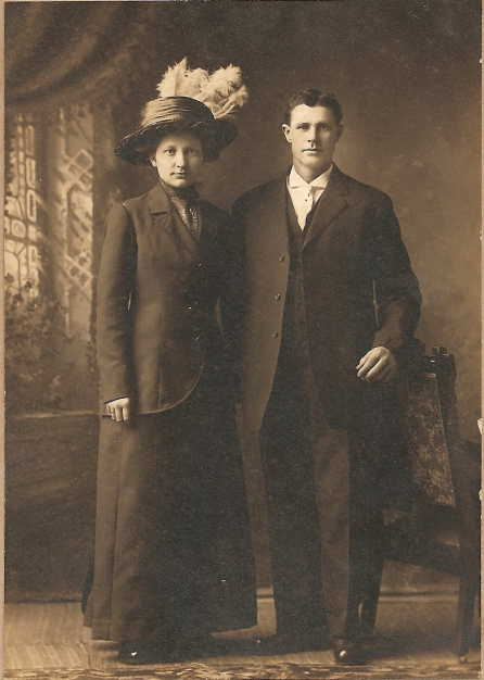 John and Albertine Emmendorfer wedding