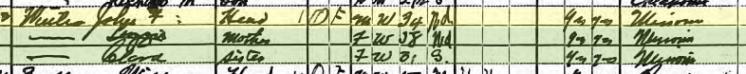 John Winter 1920 census Afton OK