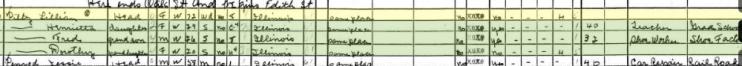 Lillie Pilz 1940 census Murphysboro IL