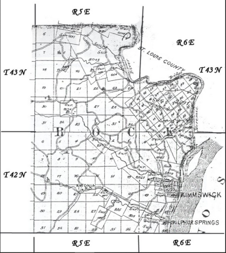 Rock Township Jefferson County MO map