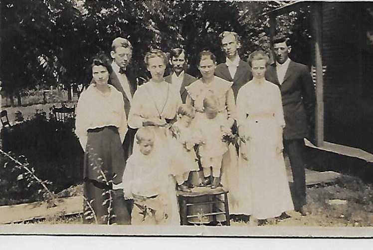 Winter Dauterhahn family Oklahoma