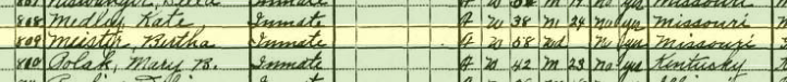 Bertha Meiser 1930 census St Francois County MO