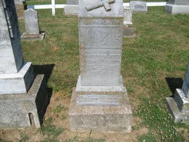 Henry Kaufmann gravestone Trinity Altenburg MO