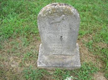 Maria Meister gravestone Concordia Frohna MO