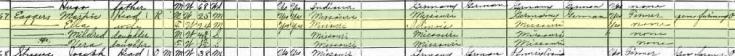 Martin Eggers 1920 census Salem Township MO