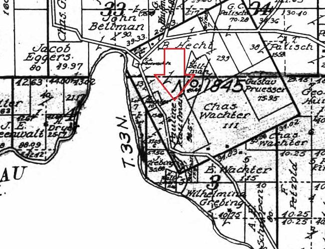 Pauline Kaufmann land map 1915