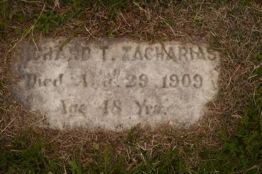 Richard Zacharias gravestone Oakwood Richmond VA