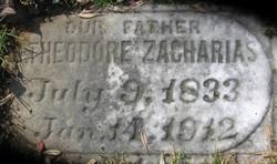 Theodore Zacharias gravestone Oakwood Richmond VA